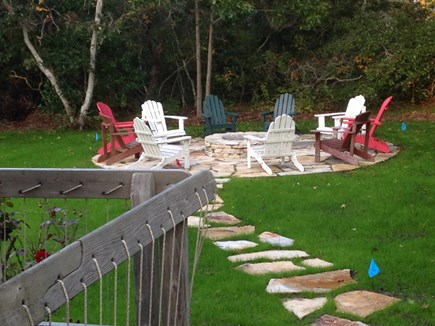Eastham Cape Cod vacation rental - New patio and fire pit
