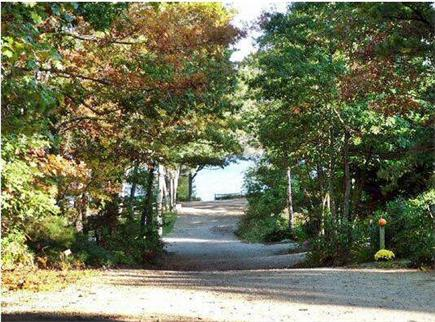 Harwich Cape Cod vacation rental - View from the end of driveway