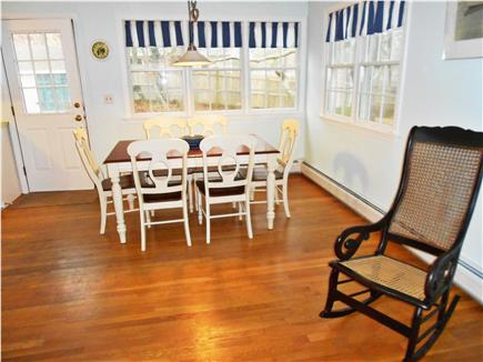 Harwich Cape Cod vacation rental - Bright dining area - with window air conditioner