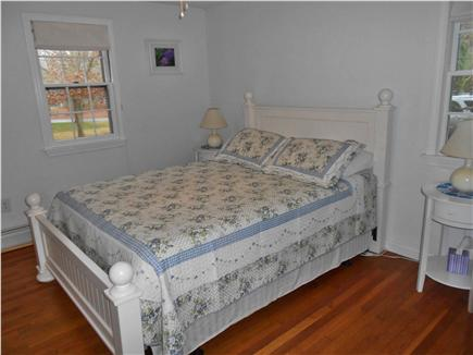 Harwich Cape Cod vacation rental - Second bedroom queen bed with ceiling fan