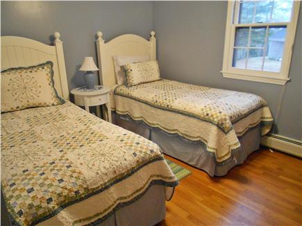 Harwich Cape Cod vacation rental - Twin bedroom with ceiling fan