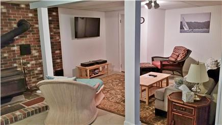Harwich Cape Cod vacation rental - Downstairs recreation room