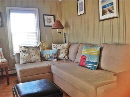 Bay side of Dennis Cape Cod vacation rental - Sunroom area