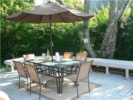 Falmouth Heights Cape Cod vacation rental - Deck/patio - Gas grill with extra tank
