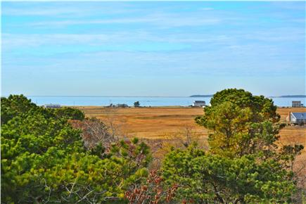 North Eastham Cape Cod vacation rental - View from  upper Deck to Sunken Meadow Bay