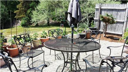 West Dennis Cape Cod vacation rental - Back patio