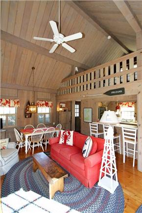 East Orleans Cape Cod vacation rental - Living Area (alternate view)