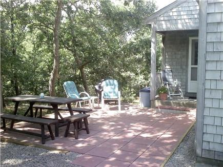North Eastham Cape Cod vacation rental - Back Patio