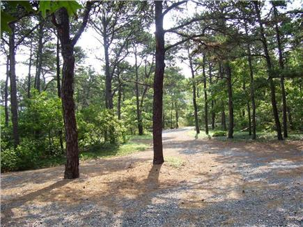 North Eastham Cape Cod vacation rental - Driveway looking towards street