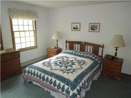 North Eastham Cape Cod vacation rental - Master Bedroom with queen bed on first floor