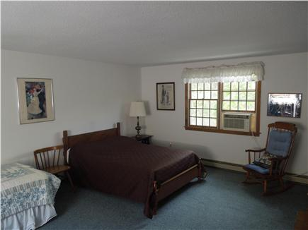 North Eastham Cape Cod vacation rental - Larger second floor Bedroom showing double bed