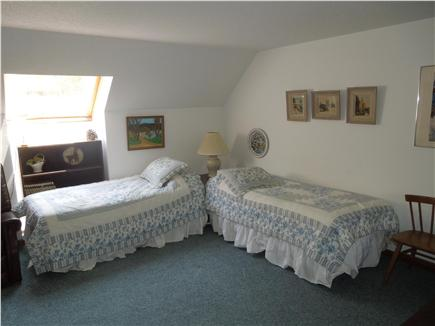 North Eastham Cape Cod vacation rental - Larger second floor Bedroom showing two twin beds