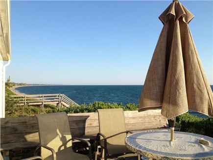 North Truro Cape Cod vacation rental - Relax on the deck, almost on the beach. There's a hammock.