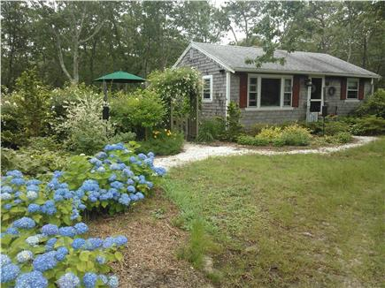Eastham Cape Cod vacation rental - Front yard with circle driveway