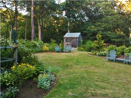 Eastham Cape Cod vacation rental - Spacious side yard gardens