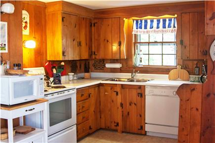 Eastham Cape Cod vacation rental - Fully equipped kitchen with dishwasher and microwave