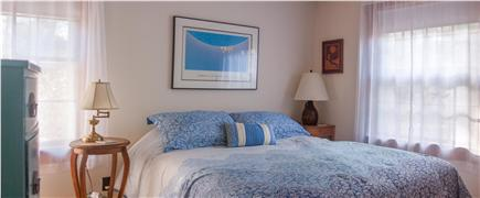 Eastham Cape Cod vacation rental - Bedroom with queen bed, dresser and closet