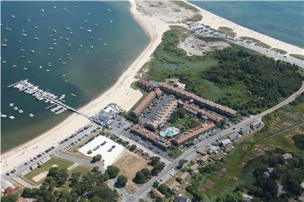 Hyannis Cape Cod vacation rental - Aerial View of the Yachtsman Complex