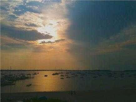 Hyannis Cape Cod vacation rental - Sunset on the Private Beach