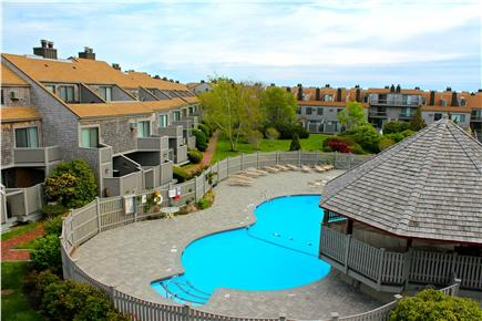 Hyannis Cape Cod vacation rental - Pool in center of complex-lifeguard always on duty