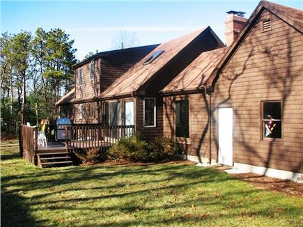 Eastham Cape Cod vacation rental - Back
