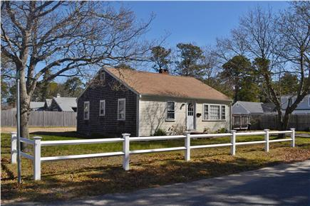 South Yarmouth Cape Cod vacation rental - Front / Side Yard
