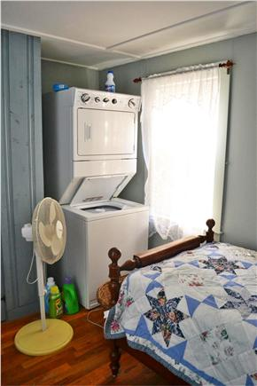 South Yarmouth Cape Cod vacation rental - Bedroom 1,  washer and dryer