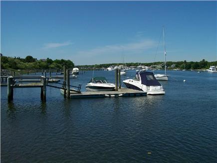 West Dennis Cape Cod vacation rental - Bass River public dock a few hundred feet away