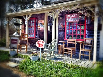 West Brewster Cape Cod vacation rental - Local Antiques and art galleries abound!