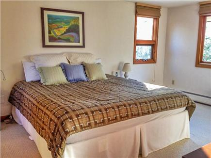 West Brewster Cape Cod vacation rental - Master Bedroom w/king bed