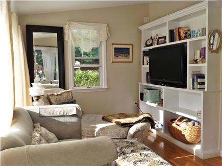 Osterville Osterville vacation rental - 3 season room with cable TV and DVD player, walkout to patio.