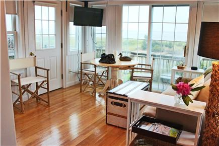 West Yarmouth Cape Cod vacation rental - View Nantucket Sound & Lewis Bay   TV/DVD WIFI in Corner