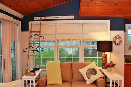 West Yarmouth Cape Cod vacation rental - From Entry    View Boardwalk to Beach  1/10 mi
