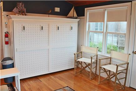 West Yarmouth Cape Cod vacation rental - Murphy Bed in Great Room additional Director Chairs for Guests