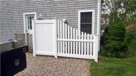 Brewster Cape Cod vacation rental - Entrance from driveway