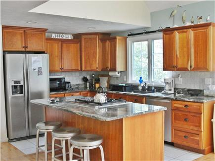 Brewster Cape Cod vacation rental - Kitchen with eat-in bar