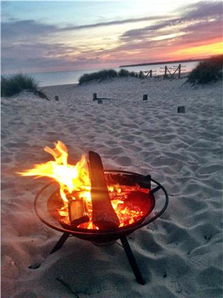 Centerville Centerville vacation rental - Enjoy a fire down on the beach at night