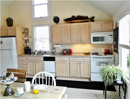 West Yarmouth Cape Cod vacation rental - Kitchen area, bright and sunny