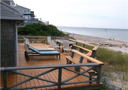 Plymouth MA vacation rental - Extra large deck