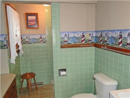 Brewster Cape Cod vacation rental - Spacious bathroom with new tile floor
