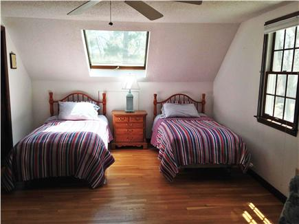 Eastham Cape Cod vacation rental - 2nd fl twins, skylight has shade, sitting area not pic'd