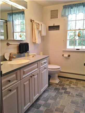 Eastham Cape Cod vacation rental - 1st floor bath, completely remodeled with rain showerhead