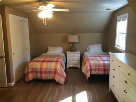 Falmouth - Seacoast Shores Cape Cod vacation rental - Upstairs bedroom with Queen and two Twins
