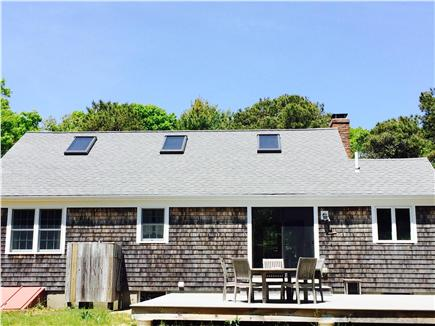East Orleans Cape Cod vacation rental - Back deck with grill and outside shower