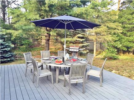 East Orleans Cape Cod vacation rental - Relaxing patio to enjoy!