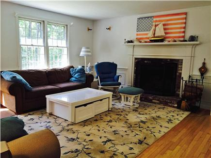 East Orleans Cape Cod vacation rental - Living room from hallway