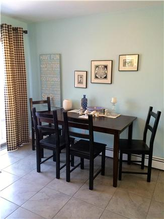 West Yarmouth Cape Cod vacation rental - Dine or serve your buffet right next to slider out to the deck.