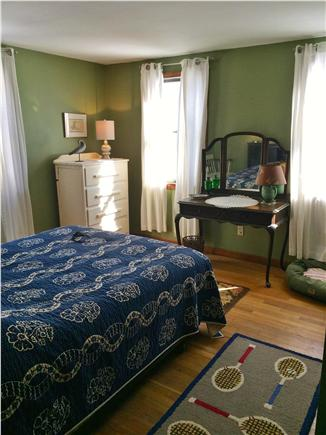 West Yarmouth Cape Cod vacation rental - Cool and serene queen bedroom on first floor.