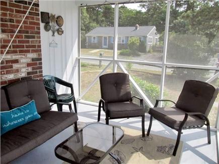 Dennisport Cape Cod vacation rental - Screened Porch