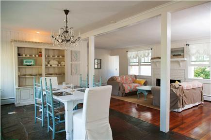Yarmouth Cape Cod vacation rental - Dining and living room